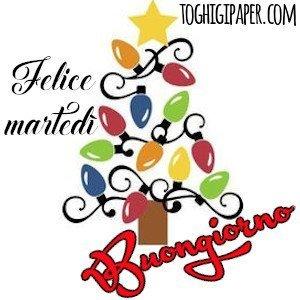 buongiorno martedì natalizio