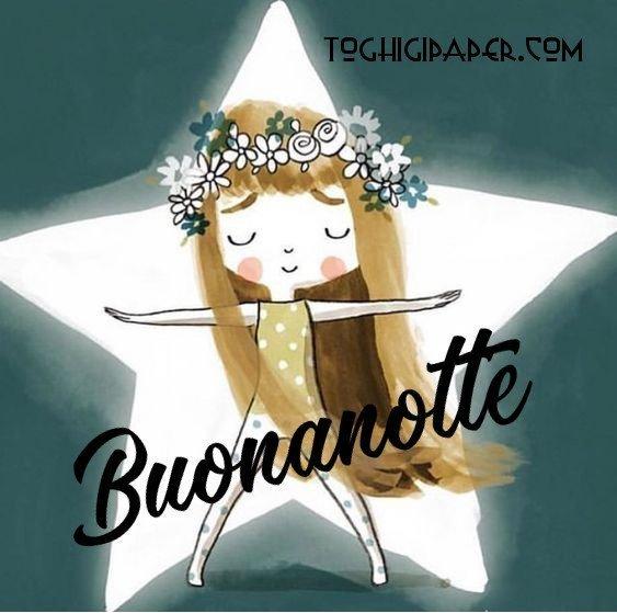 Buonanotte stella immagini gratis WhatsApp nuove bacionotte dolci sogni per WhatsApp, Facebook, Pinterest, Instagram, Twitter
