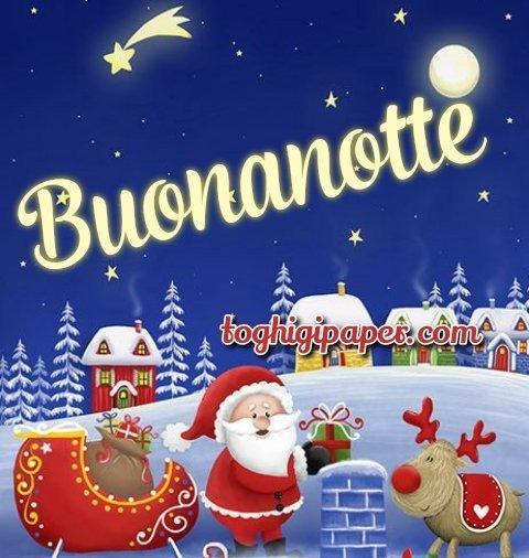 Natale buonanotte immagini gratis per Facebook, WhatsApp, Instagram e Pinterest