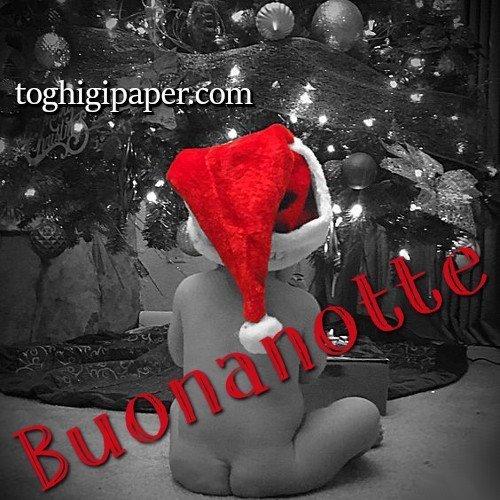 Natale bambino buonanotte immagini gratis per Facebook, WhatsApp, Instagram e Pinterest