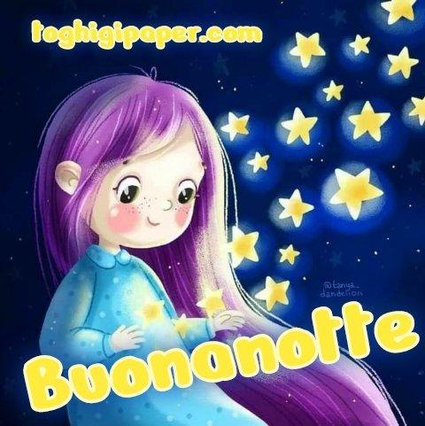 Stelle buonanotte immagini gratis WhatsApp nuove bacionotte dolci sogni per WhatsApp, Facebook, Pinterest, Instagram, Twitter