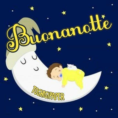 Luna buonanotte, immagini nuove e belle da scaricare gratis e condividere con i tuoi amici su WhatsApp, Facebook, Instagram, Pinterest, Twitter