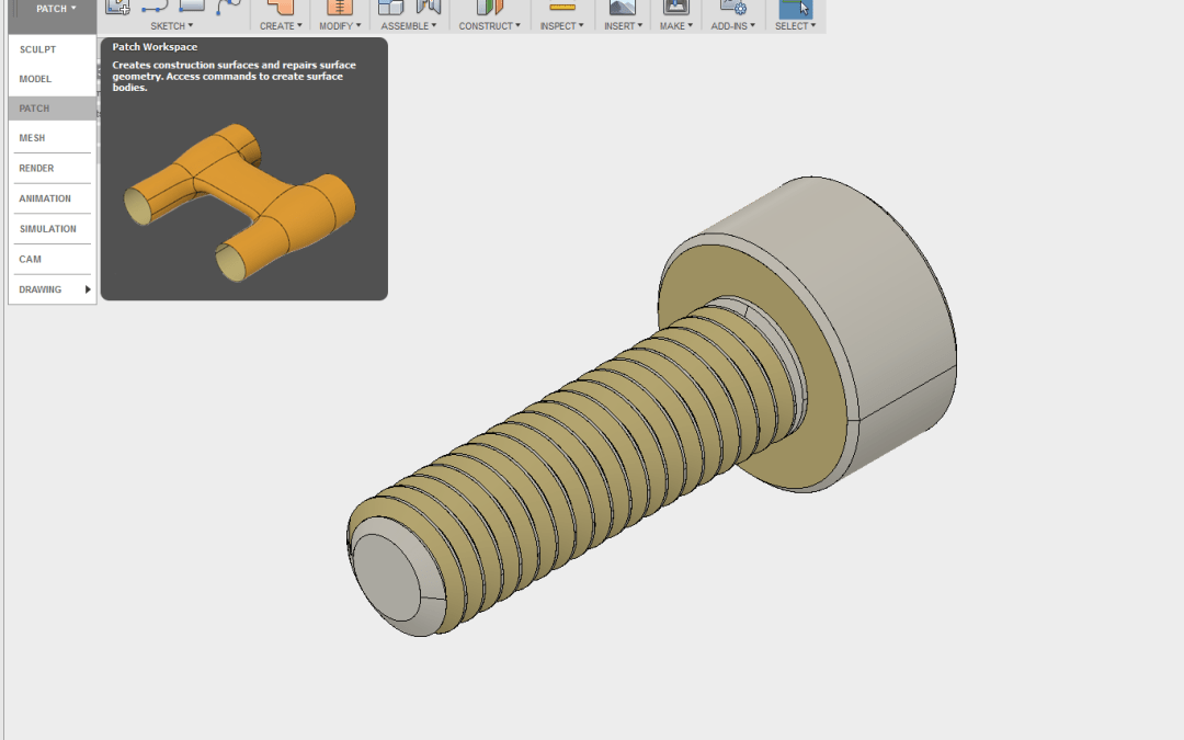 Fixing Unstiched Models in Fusion 360