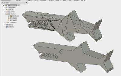 Convert a Simple STL into a Body in Fusion 360