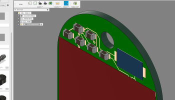 Create a Fusion 360 Model from an Eagle BRD File | Toglefritz's Lair
