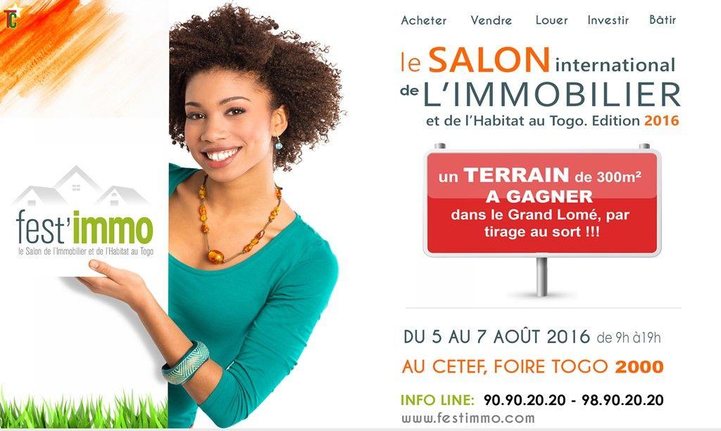 2e dition du Salon international de lImmobilier et de lHabitat du Togo en aot  la Foire