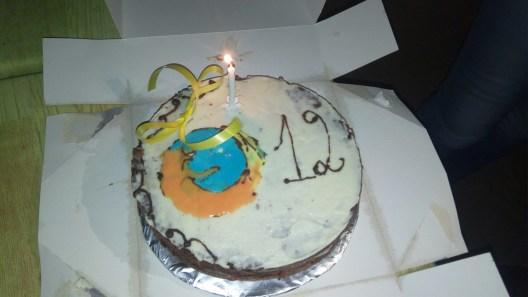 Gâteau Firefox 12 ans @MozillaTG