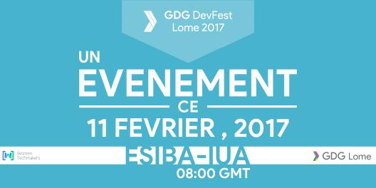DevFest Lome 2017