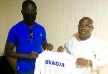 Ouadja Lantame, coach As Binah