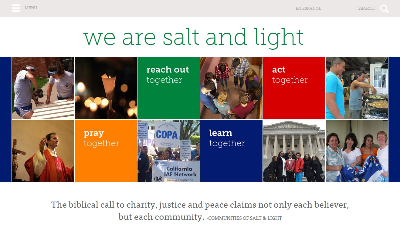 We Are Salt And Light