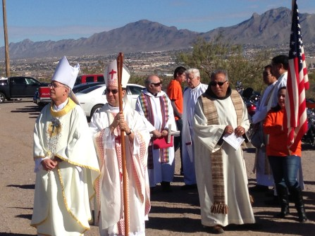 Bishops gather to celebrate Mass along border