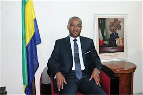 L'ambassadeur du Gabon Aboubakar Minko-Mi-Nseme en fin de mission au Togo