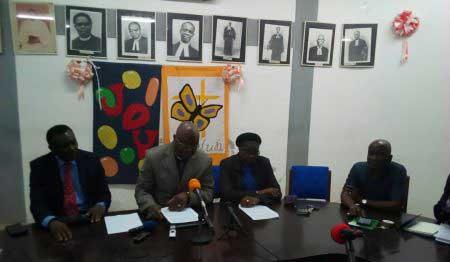 Les Eglises Evangélique et Méthodiste du Togo appellent les populations à aller s'inscrire sur les listes électorales                                                                            19 novembre 2019