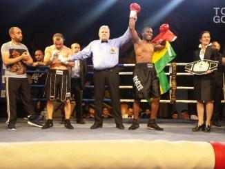 Victoire par KO du Togolais Prinz Lorenzo ng image full Boxe: Prinz Lorenzo conserve son titre !