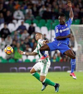 djene Liga: Djene Dakonam dans le top 5 des meilleurs nouveaux joueurs