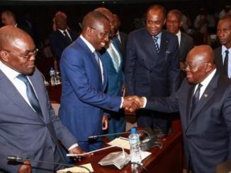 dialogue togo Dialogue: des proches de Faure Gnassingbé reçus à Accra par le président Akuffo-Addo