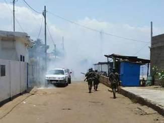 siege cdpa Togo: les leaders de la C14 encore pris pour cibles par la police ce mercredi [Vidéo]