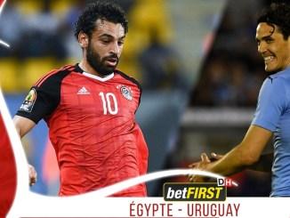 egypte uruguay Egypte - Uruguay: Mo Salah ne sera pas titulaire, Suarez et Cavani alignés à la pointe de l'attaque de La Celeste!