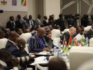 sommet conjoint cedeao 765630755 sommet cedeao ceeac 2018 1 Crise au Togo: la CEDEAO perd déjà ses repères