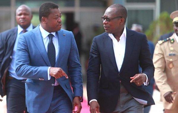 talon faure 1 « Les relations entre le Bénin et le Togo ne sont pas mises à mal »