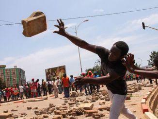 manifestation contre le president togolais faure gnassingbe a lome le 5 octobre 2017 5956522