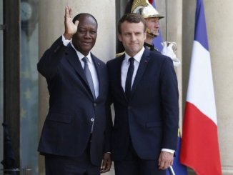 Alassane Ouattara et Emmanuel Macron Franc CFA: Kako Nubukpo défie Macron et Ouattara