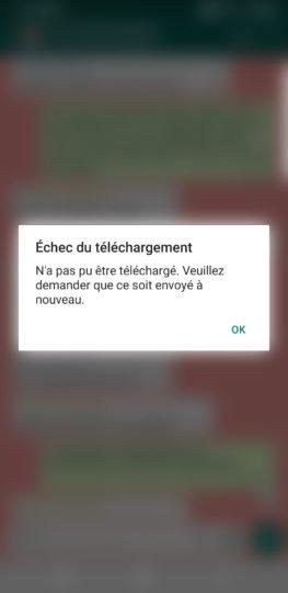 screenshot 20190703 172426 whatsapp WhatsApp, Facebook et Instagram touchés par une panne