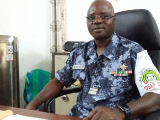 Colonel Amana Colonel Amana Kodjo, nouveau patron de la force anti-covid