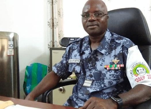 Colonel Amana Kodjo, nouveau patron de la force anti-covid | TOGOWEB