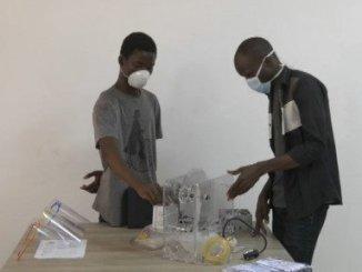 Respirateur 3D Nishamag Coronavirus: un respirateur 3D 100% made in Togo