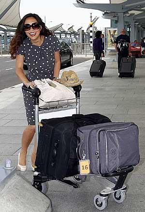 FromPaul Burgman 23 May 2009. Mylene Klasse At Heathrow Terminal Five   Paul Burgman  075 88 66 9580