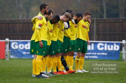 12/11/2016. Godalming Town FC v Sittingbourne.
