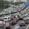 国慶節の高速道路