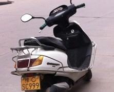 中国のバイクのナンバープレートの不思議な現象