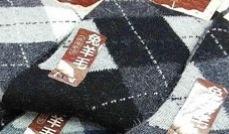 ウールフリーの靴下