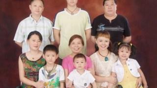 中国の家族写真:全家福
