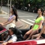 美女が乗ったオープンカーが街を走る理由