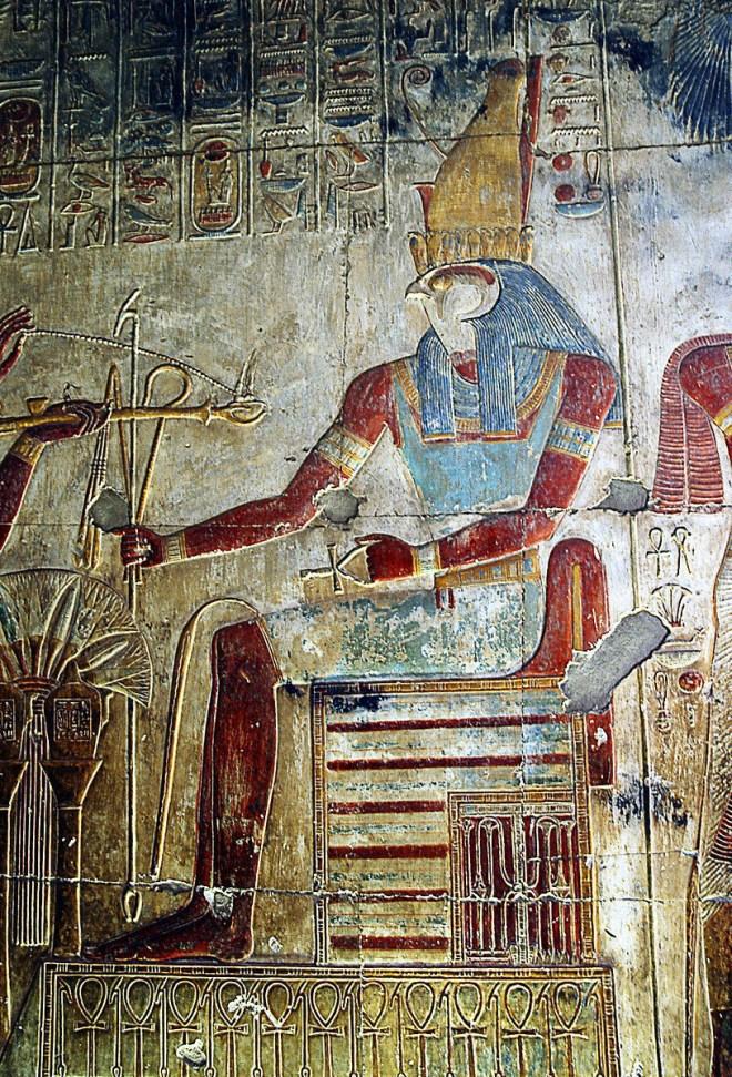 Horus head