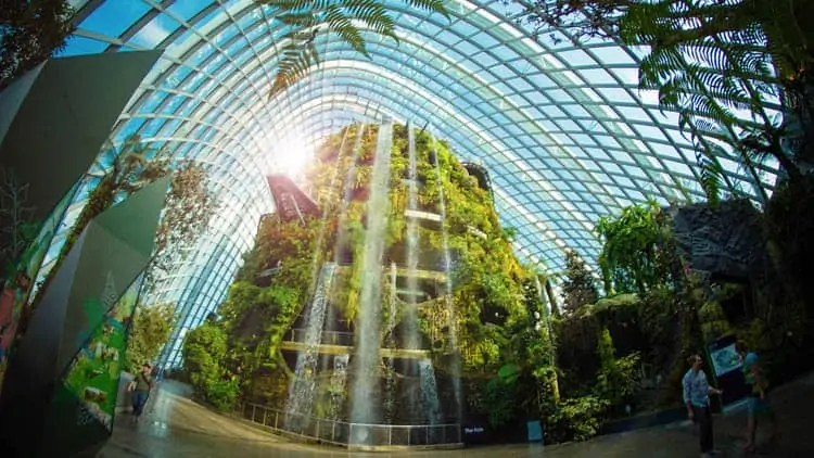 cloud-forest-singapore-garden-by-the-bay