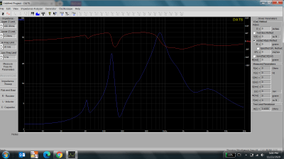 THX DATS impedance