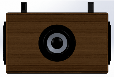Rear side speaker SW