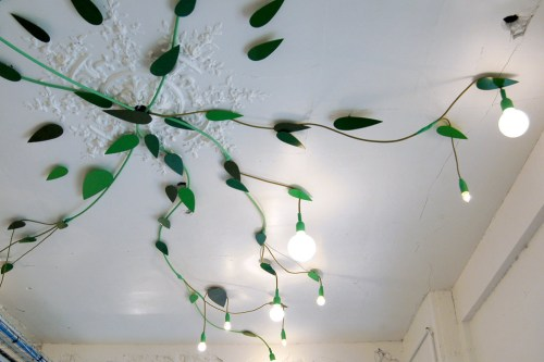 leafy interior/ cinqcinqdesigners