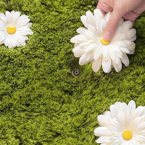 daisy rug