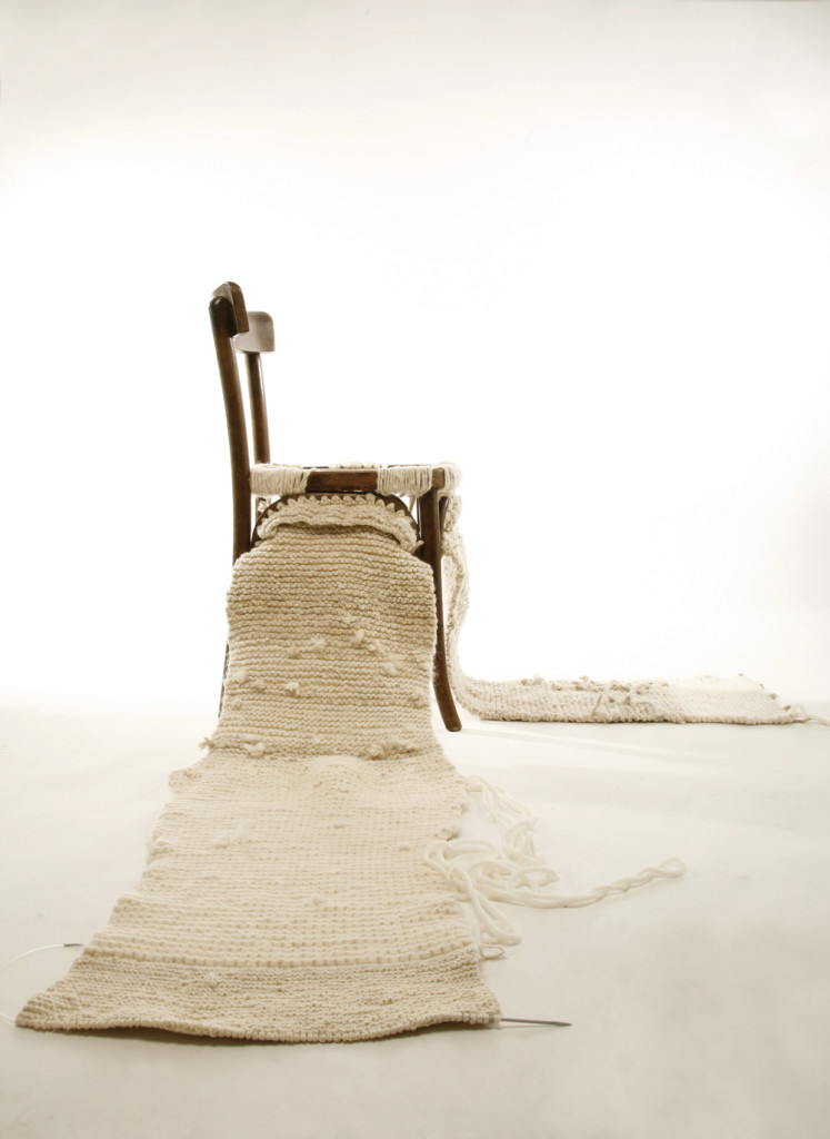 Knitted Chair / soojin kang