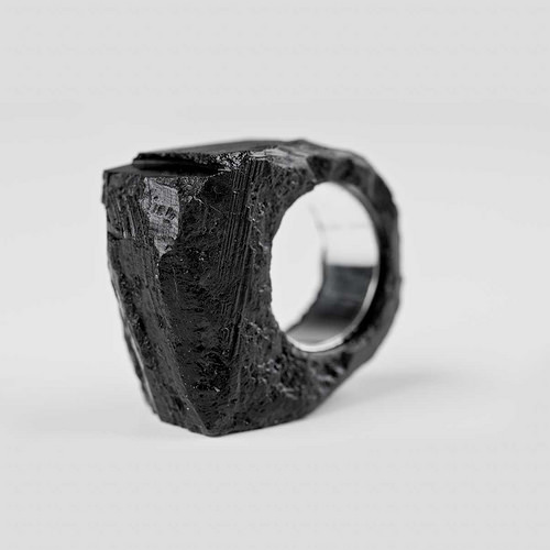 Silesian coal jewelry/ BroKat