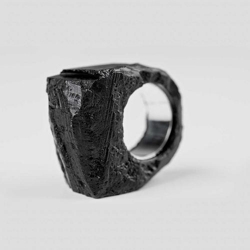 Silesian coal jewelry/ BroKat