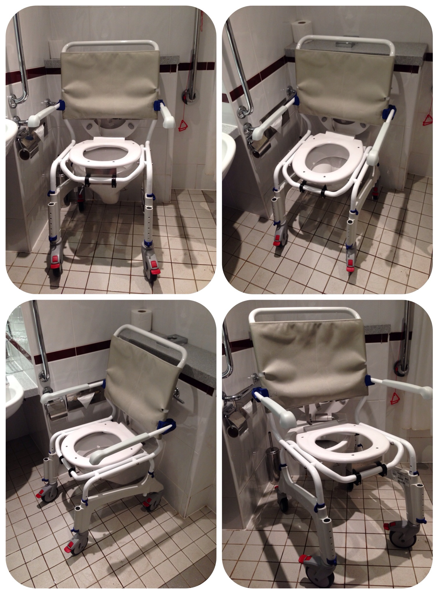wheelchair toilet old office chairs choosing an over chair commode  the world of