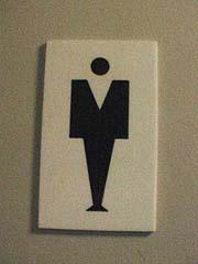 トイレマーク画像