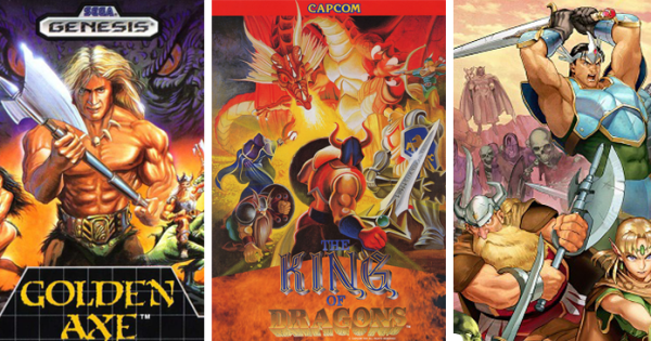 The Link-Up Spell: 3 Fantasy Beat'em Up Recs for a Retro