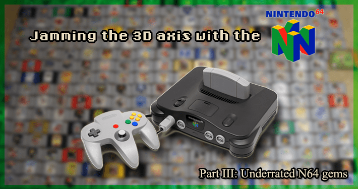 The Link-Up Spell: Let's play the most underrated N64 games